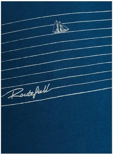 Routefield Routefield T-Shirt Mavi